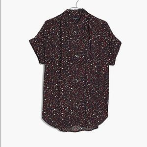 Madewell Tops - Madewell Central Drapey Shirt in Starry Night, XS